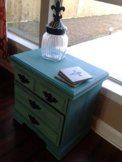 small tourquoise dresser
