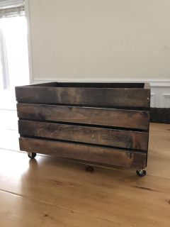 Two Crates on wheels