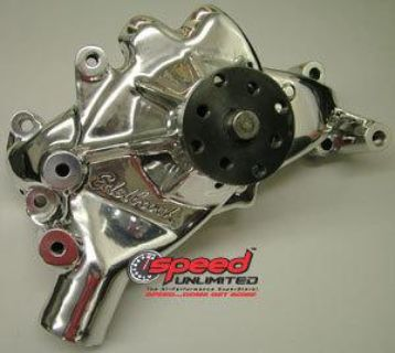 Purchase Edelbrock 8861 Polished Aluminum Water Pump Chevy Big Block Long Style motorcycle in Suitland, Maryland, US, for US $311.83
