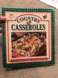 Country Casseroles cook book.