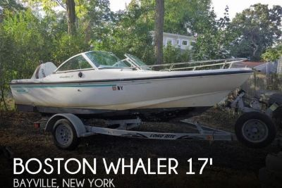 1995 Boston Whaler Dauntless 17 Dual Console