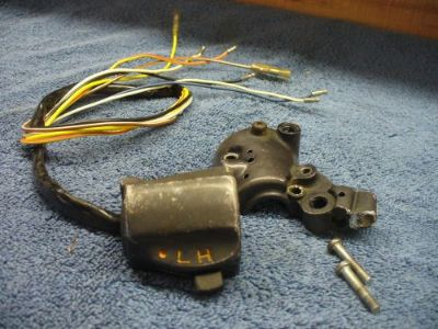 Purchase honda right control cb125 k5 cb175 cl175 k5-k6 dimmer 35300-316-670 #2820 motorcycle in Fairview, Michigan, United States, for US $48.00
