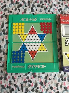 Pocketable Chinese checkers