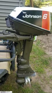For Sale: 6hp johnson outboard