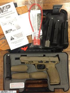 "For Sale: Smith & Wesson M&P 2.0 5"" FDE"
