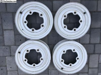 Set of 4 15 5x205 wheels