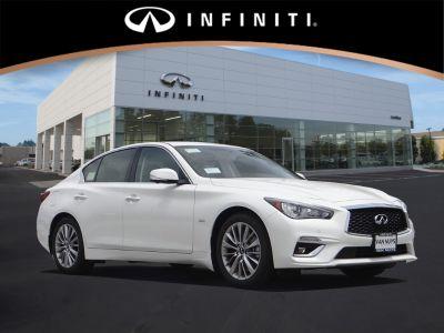 2018 Infiniti Q50 CAR (white)