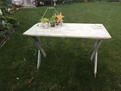 Folding Wooden Table...so charming
