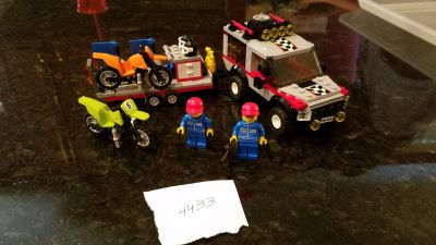 Lego #4433 Dirt Bike Transporter