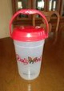 Dollywood Large Plastic Container with Handle