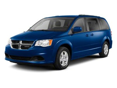 2012 Dodge Grand Caravan Crew (Bright Silver Metallic)