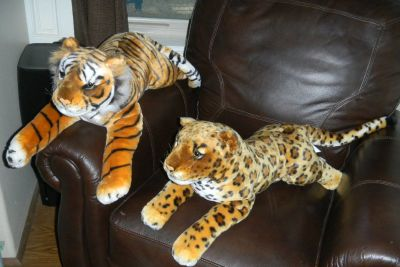 Jumbo Bengal Tiger Wild Cat Plush Best Made Toys Stuffed Animal