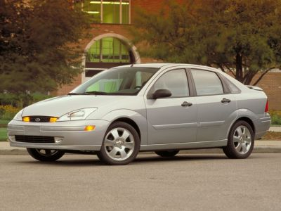 2004 Ford Focus LX (Cloud 9 White Clearcoat)