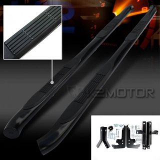 """Buy Fits 2009-2015 Honda Pilot 3"""" Black Side Step Rail Nerf Bars Running Boards motorcycle in Walnut, California, United States, for US $112.38"""
