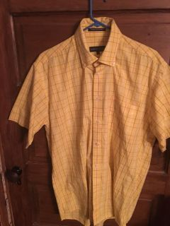 Siegried & Company: Men s Yellow Shirt Size L $8 Must Pickup In McDonough