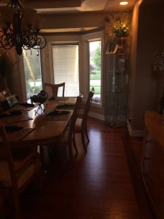12 piece dining room/ Lemont community garage sale