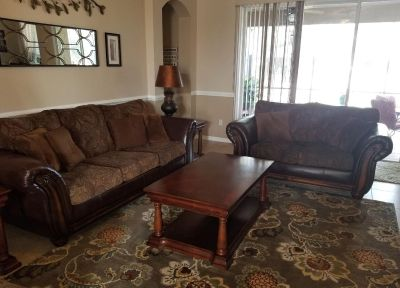 3 piece- coffee table & 2 end tables