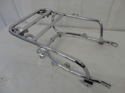 Sell 1980-1983 Honda GoldWing GL1100 Chrome Rear Luggage Rack w/ Helmet Holders 3159 motorcycle in Kittanning, Pennsylvania, US, for US $29.99