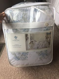 NEW Simply Shabby Chic KING 3 piece comforter set