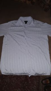 Men's size X - Large Claiborne Long - Sleeved Button Up Dress Shirt