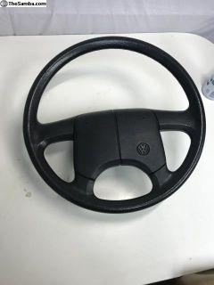 eurovan steering wheel bolts right on a vanagon