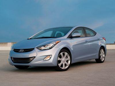 2011 Hyundai Elantra GLS (Titanium Gray Metallic)