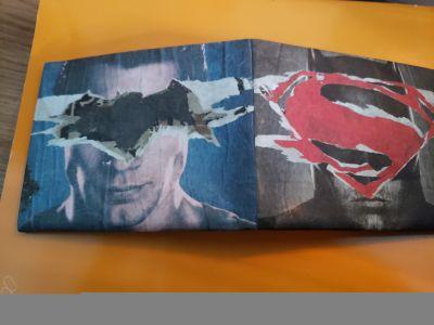 Batman vs Superman Wallet - Never Used