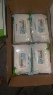 Case of baby wipes