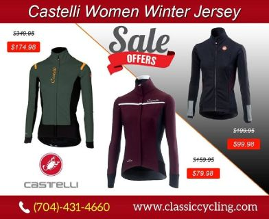 Classic Cycling - Castelli Women Winter Jersey | 28144, NC