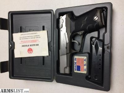 For Sale: Ruger KP91D Stainless 40 S&W
