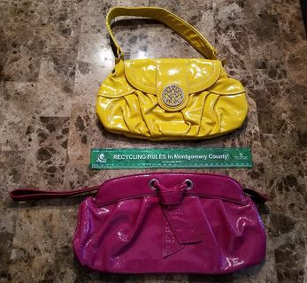 BRAND NEW!! Steve Madden/Bisou Bisou Clutches