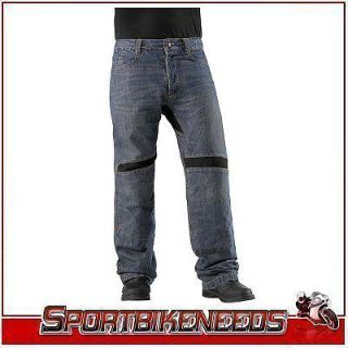 Find Icon Victory Riding Black Knee Overpant New Waist 38 motorcycle in Elkhart, Indiana, US, for US $120.00