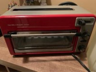 toaster oven with built in toaster on top