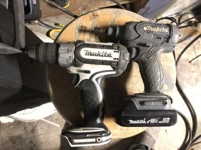 Makita still and impact 1 battery and charger