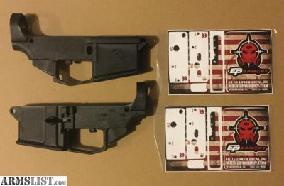 For Sale: 80% Polymer Lower Receiver AR 15