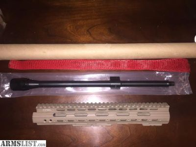 For Sale: AR-15 Barrel & Forend Combo