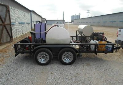 2006 Mcclain 12x6- Pressure-Washer-Trailer