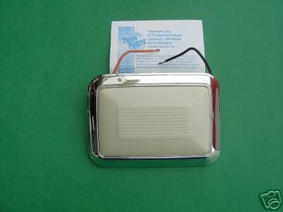 Sell 1968-1969-1970 CHEVELLE & MALIBU DOME LIGHT ASSEMBLY-TRIM PARTS-NEW motorcycle in Ross, Ohio, US, for US $44.45