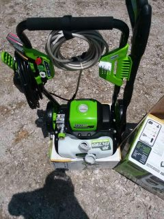 Green WORKS $125.00 pressure washer and POWER STROKE $265.00 NEW NEW