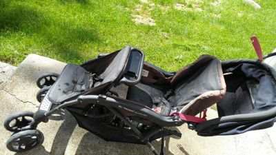 Used-Double stroller