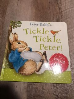 Peter Rabbit touch and feel boardbook
