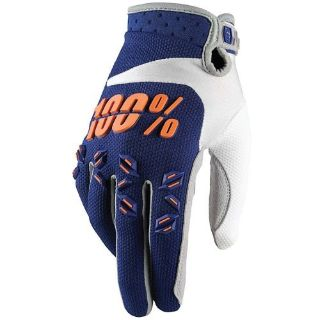 Purchase NEW 100% YOUTH BOYS BMX MX ATV RIDING AIRMATIC BLUE ORANGE GLOVES GLOVE motorcycle in Ellington, Connecticut, United States, for US $22.00