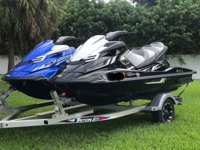 Set Of 2017 Yamaha Supercharged Wave-Runners