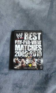 WWE Best Pay-Per-View Matches 2009-2010 Three Disc Set DVD'S