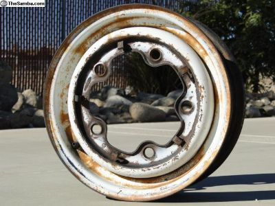 14 inch Bus Wheel 1964-70 Og Paint #2
