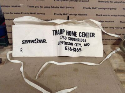 Pre-owned Local Advertising Nail Apron