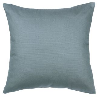 26 x 26 Steel Grey 100% Cotton Canvas Pillow Cover