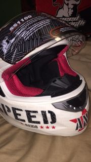 NEW speed and strength motorcycle helmet