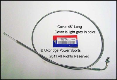 Sell Yamaha QT50 Yamahopper Throttle Cable 4502S AF81 motorcycle in Uxbridge, Massachusetts, US, for US $18.77