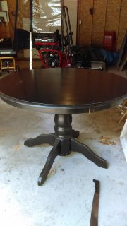 Shaby black table